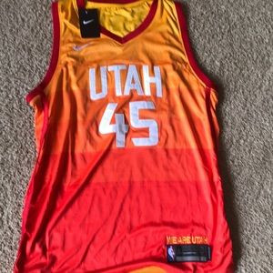 45f477c2e Nike Shirts - NBA Nike Donovan Mitchell Jersey Xl Utah Jazz City